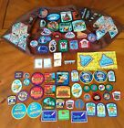 HUGE LOT 84 Girl Scouts Patches + Pins