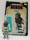 Vintage 1983 RETURN OF THE JEDI NIKTO WITH ROTJ77A CARD BACK Free Shipping