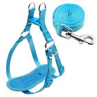 8 14 Blue Step in Dog Harness and Leash No Pull for Small Dogs Puppy Chihuahua
