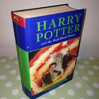 1st Edition HARRY POTTER AND THE HALF BLOOD PRINCE by J K ROWLING HARDBACK BOOK
