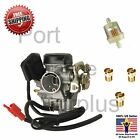 GY6 50 100cc 20mm Big Bore Carb Jet Kit 85 88 90 Filter 139QMB Scooter Moped