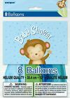 8 Boy Monkey Baby Shower Party 12 Latex Balloons Decorations