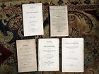 FIVE ORIGINAL 19th Century Booklets on CORN LAWS 1815 1815 1844 1832 1801