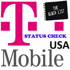 FAST US T MOBILE IPHONE 4s 5 5c 5s 6 6+ 6s 7 CLEAN BLOCKED UNPAYED STATUS CHECK