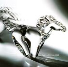 HUGE NEW in BOX STEUBEN art glass HORSE GALLOPING stallion crystal ornament colt