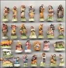 RETIRED AMAZING MINIATURE PORCELAIN NATIVITY SCENE SET 28 FIGURINES HARD TO FIND