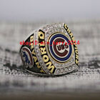 Year 2016 Chicago Cubs World Series Championship Solid Ring 8-14Size To Choose