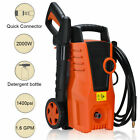 1400PSI Electric High Pressure Washer 2000W 1.6GPM Sprayer Cleaner Machine New