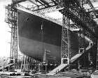 WHITE STAR LINE RMS TITANIC OCEAN LINER PHOTO BELFAST READY LAUNCH 8x10 #21269