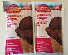 3 Pack Lot Rival Frozen Delights Ice Cream Creamy Chocolate Ice Cream Mix