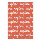 Sizzix Textured Impressions Embossing Folder Explore 660422