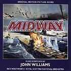 MIDWAY -- MUSIC By JOHN WILLIAMS (FILM SOUNDTRACK CD) LIKE NEW