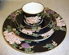 FITZ & FLOYD CLOISONNE PEONY 5 PIECE PLACE SETTING (S)