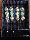 New Kate McRostie Set Of 4 Holiday Spreaders Hand Sculpted & Painted