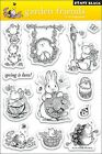 Penny Black Clear Stamp Set Garden Friends New