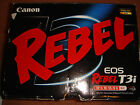 Canon EOS Rebel T3i Digital SLR Camera with EF S 18 55mm f 35 56 IS Lens NIB
