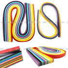 160 Strips 22 Color Quilling Paper DIY Hand Crafts Origami Paper Width 3mm 5mm