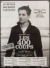 400 BlOWS 1960 French 46x62 ri poster Francois Truffaut COUPS Film Art Gallery