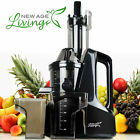 New Commercial Slow Juicer Masticating Cold Press Machine Fruit Vegetable  S