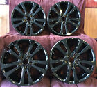 Chrysler 200 2015 2016 2017 Set of 4 OEM wheels 17 Gloss Black H 2511