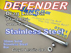 Defender 90 110 130 Stainless Steel Drag Link Bar Heavy Duty steering SUMOBARS