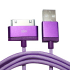 Nylon USB DATA SYNC CHARGING CHARGER CABLE LEAD FOR iPHONE 4S 3G