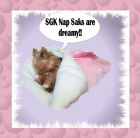 Pink Dog Cuddle Nap Sak Pouch Bed Yorkie Chihuahua Puppy
