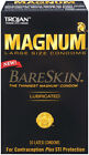 Trojan Magnum Bareskin Lubricated Condoms - Select Pack Size