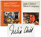 Julia Child  More Company Signed Cook Book