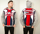 TOMMY JEANS hoodie XL vintage 90s hilfiger retro baggy spellout colorblock top