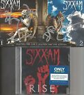 SIXX:A.M. PRAYERS FOR THE BLESSED & DAMNED AUTOGRAPHED CD's + RISE (Crue, Ashba)