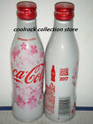 2017 Japan coca cola SAKURA aluminium bottle 250ml empty