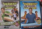 The Biggest Loser 2 DVDs The Workouts Boot Camp Weight Loss Yoga