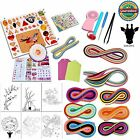 Giraffe 26 in 1 Paper Quilling DIY Kits with 36 Colors Quilling Strips Crafti