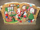 SANTA' WORKSHOP CHTISTMAS DECORATION, FRIENDLY HOME PARTIES GREAT CONDITION