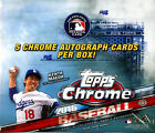 2016 Topps Chrome Baseball SEALED HTA Hobby JUMBO BOX (5 Autos box avg)