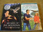 Lot 2 books Jean Craighead George My Side the Mountain On the Far Side Mountain