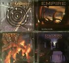 Empire- Hypnotica, Trading Souls, The Raven Ride, Chasing Shadows (4 CD Lot)