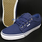 VANS CHUKKA LOW MATERIAL MASH NAVY MENS SKATE SHOES ERA OLD SKOOL S73142226