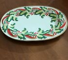 NEW in Box FITZ & FLOYD NOEL CLASSIQUE Large SERVING PLATTER