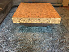 MCM SQUARE LOW RISE COFFEE TABLE