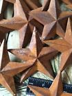 10 Rusty Barn Stars 3.75 in 3 3/4