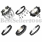 6pcs Gothic Punk Womens Black Velvet Tattoo Lace Choker Collar Necklace Retro