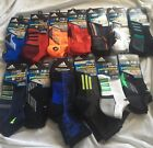 2 Pair Mens Adidas Socks Shoe Size 6 12 Ankle Quarter Cut Choose 1 Gift