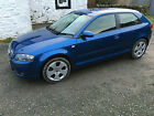 LARGER PHOTOS: 2005 AUDI A3 SPORT 2.0 TDI BLUE