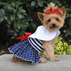 XSM DOG DRESS chihuahua teacup yorkie little DOG DRESS AND LEASH SHIPS FROM USA