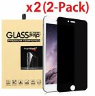 Privacy Anti Spy Tempered Glass Screen Protector Shield for 55 iPhone 6 Plus