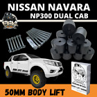 NISSAN NAVARA NP300 4X4 2 INCH 50MM BODY LIFT KIT 4WD DUAL CAB