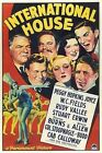 International House 1933 WC Fields George Burns All Star Cast DVD r
