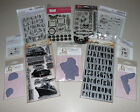 Cling  Clear Stamp Lot Tim Holtz Magnolia Stampendous Retails for 100+